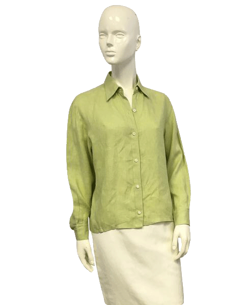 Ellen Tracy Spring into Green Top Size SP (SKU 000071)