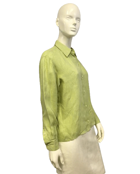 Ellen Tracy Spring into Green Top Size SP SKU 000071