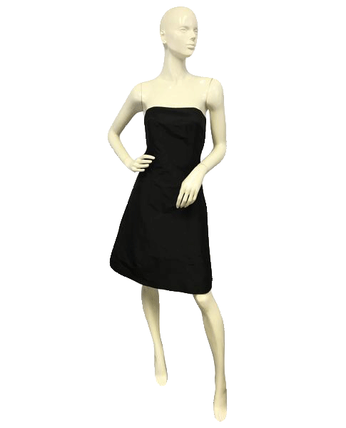 Aria Little Black Strapless Dress Size 8 SKU 000065
