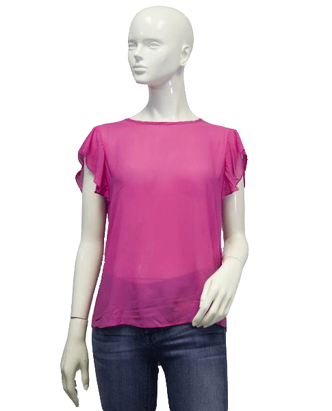 DKNY 87 Pink Tulip Top Size S SKU 000005