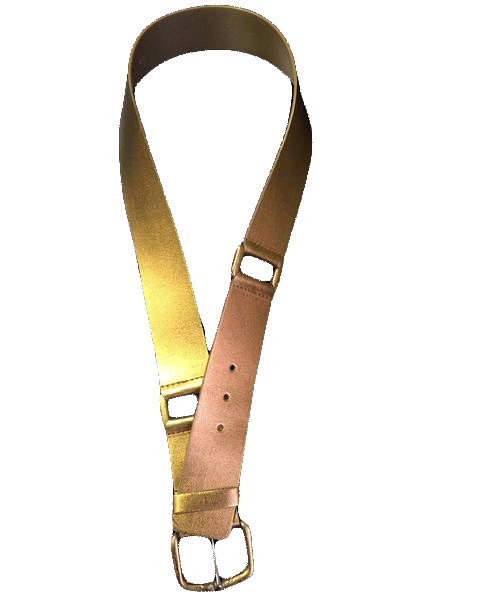 BELT Bronze Metallic Belt SKU 000099