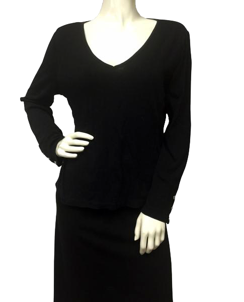 Ralph Lauren Top Long Sleeve Size Large (Black) SKU 000029