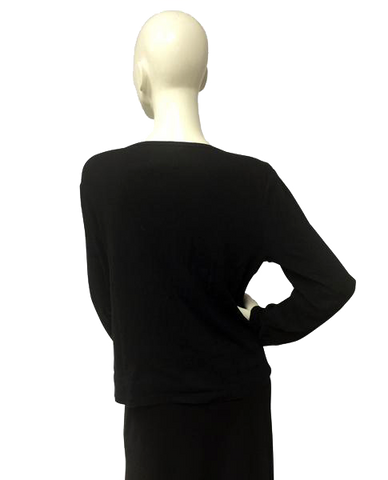 Ralph Lauren Black Label Long Sleeve Top Size Large (SKU 000029)