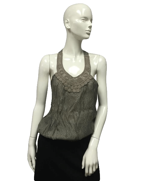 Poetry Olive Green top Size  L (SKU 000096)
