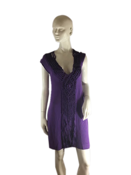 Nanette Lepore Dress Purple Size S SKU 000238-4