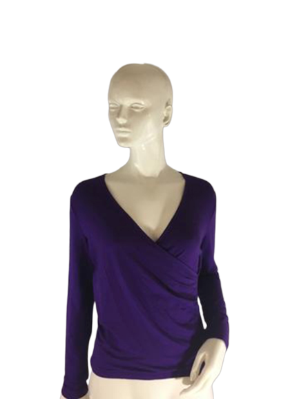 Ralph Lauren Top Purple Size P/ M (Gr) (SKU 000240-9)