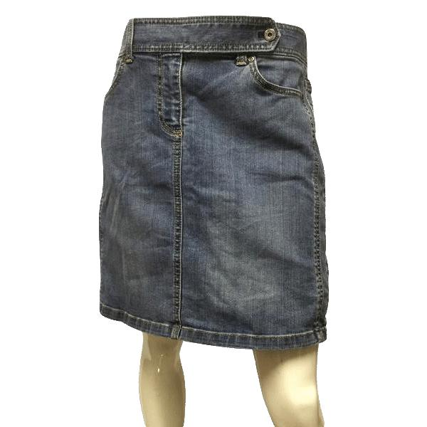 Ann Taylor Denim Skirt Size 8 (SKU 000021)