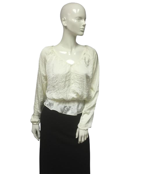 Michael Kors Cream Top Size Small SKU 000056