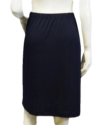 Catch Me If You…Black Knit Skirt Size XL  (SKU 000004)