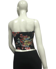 MISSING FLORAL TOP Strapless Glamazon (SKU 000095)