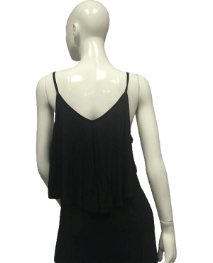 Wet Seal Top Spaghetti Straps Black Size XL NWT SKU 000095