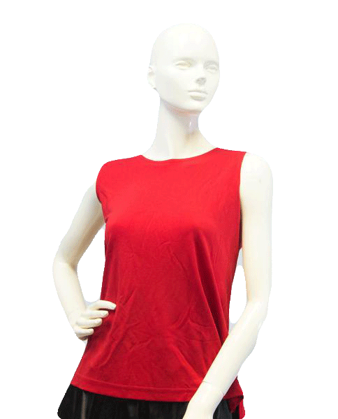 Rouge Slv Knit Tank Top Sz X (SKU 000087)