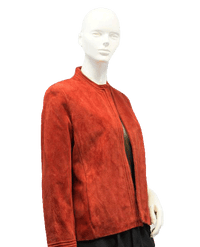 Comint 60's Blazer Red Leather Size 12 SKU 000038