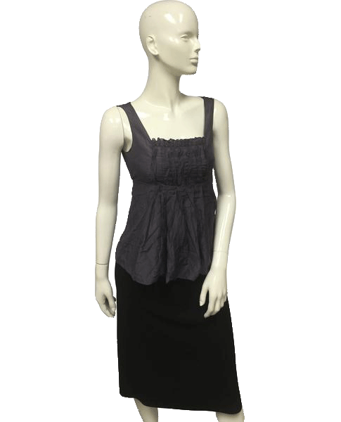 AD HOC Top Purple Sleeveless Size S SKU 000095
