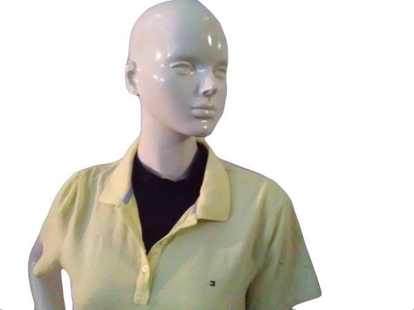 Tommy Hilfiger Classic Fit Yellow Short Sleeve Polo Size XL (000041)