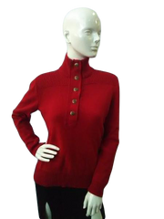 Ralph Lauren Red Sweater Size Small (SKU000041)