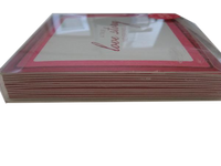 Two's Company A True LOVE STORY Never Ends Paper Coaster Set Of 12  (SKU 000177 )