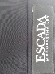 Escada Margaretha Ley Black Skirt Size 36  (SKU 000163)