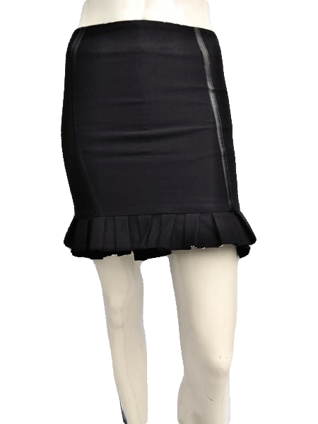 Bebe Black Mini Skirt Size 0 SKU 000133