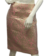 Pink With Gold Embroidery Skirt Size 2 (SKU 000026)