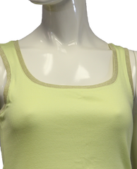Chico's Neon Yellow Tank Top Size 0 (SKU 000069) - Designers On A Dime - 2