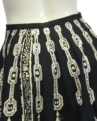 Hobo Black and White Skirt Size L/XL (SKU 000026) - Designers On A Dime - 4
