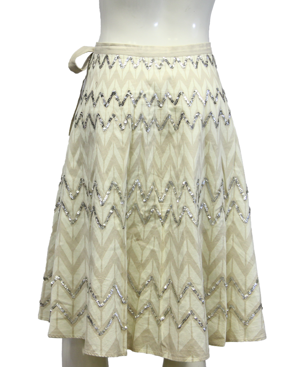 BCBG Max Azria Sequin Skirt Size L (SKU 000026) - Designers On A Dime - 1