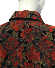 Coldwater Creek Rose Petals Floral Top Size 3X (SKU 000010) - Designers On A Dime - 4