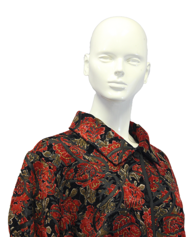 Coldwater Creek Rose Petals Floral Top Size 3X (SKU 000010)