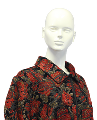 Coldwater Creek Rose Petals Floral Top Size 3X (SKU 000010) - Designers On A Dime - 2