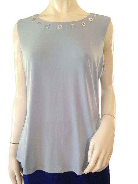 Calvin Klein Top Light Blue Size XL (SKU 000209)