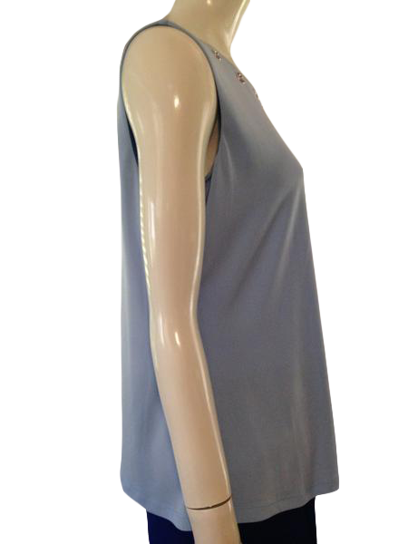 Calvin Klein Top Light Blue Size XL SKU 000209