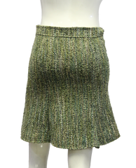 Arden B. Green Boucle Skirt Size XS (SKU 000013) - Designers On A Dime - 3
