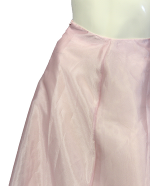 Belle of the Ball Maxi Pink Skirt Size S (SKU 000026) - Designers On A Dime - 2