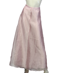 Belle of the Ball Maxi Pink Skirt Size S (SKU 000026) - Designers On A Dime - 1