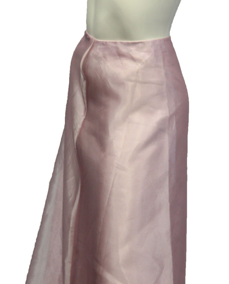 Belle of the Ball Maxi Pink Skirt Size S (SKU 000026) - Designers On A Dime - 3