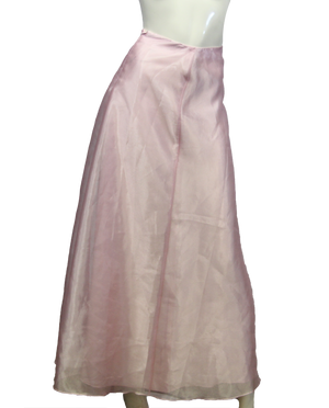 Belle of the Ball Maxi Pink Skirt Size S (SKU 000026) - Designers On A Dime - 4