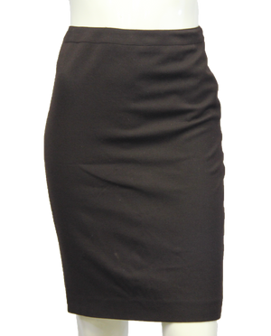 Ellen Tracy Work It Brown Skirt Size 2p (SKU 000094) - Designers On A Dime - 1