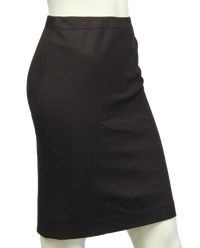 Ellen Tracy Work It Brown Skirt Size 2p (SKU 000094) - Designers On A Dime - 2