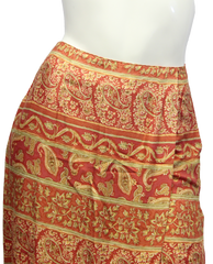 Talbots Wrap Around Skirt Size 4P (SKU 000028) - Designers On A Dime - 2