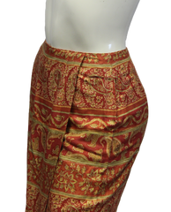 Talbots Wrap Around Skirt Size 4P (SKU 000028) - Designers On A Dime - 3