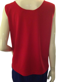 Chico's Tank Top Red Size 2 (SKU 000209)