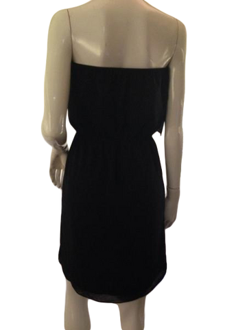 MM Couture Black sleeveless, elastic waist dress size small (SKU 000209)