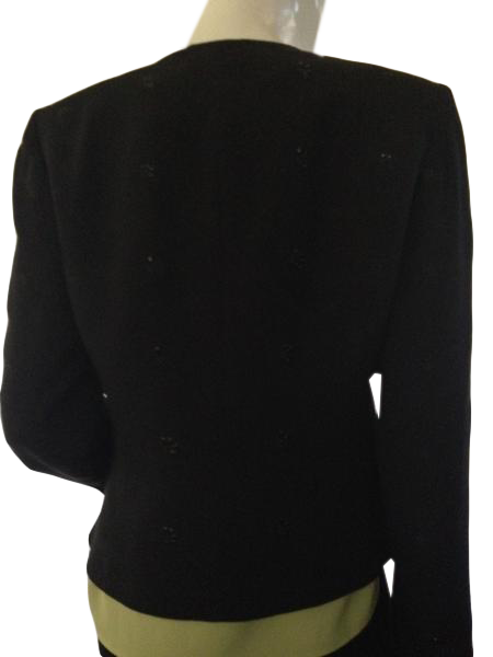 Preston & York Jacket Black Size 8 (SKU 000209)