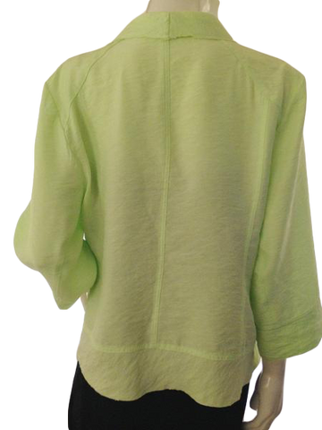 Chico's Cardigan Lime Green Size 3 (SKU000209)