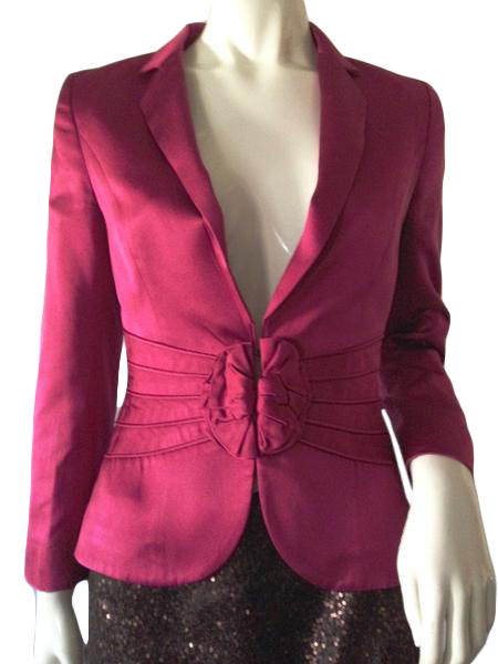 Escada Jacket Magenta Size 34 (SKU 000209)
