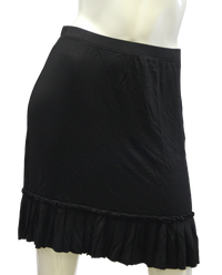 Shake It Comfy Black Skirt Size S (SKU 000026) - Designers On A Dime - 1