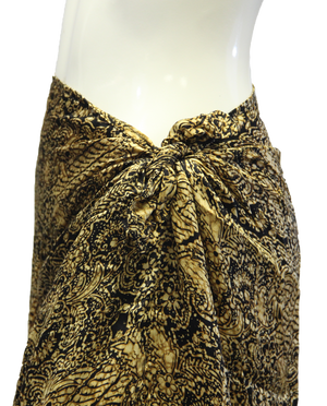 Island Collection Fancy Resort Skirt Size M (SKU 000026) - Designers On A Dime - 3