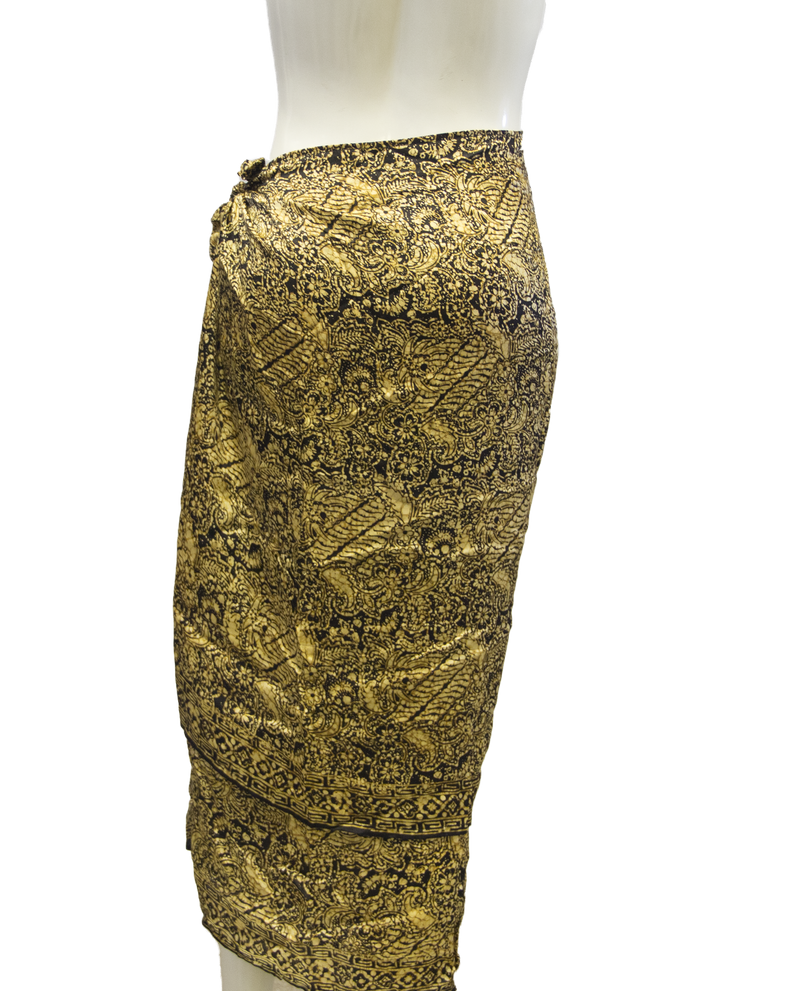 Island Collection Fancy Resort Skirt Size M (SKU 000026) - Designers On A Dime - 4
