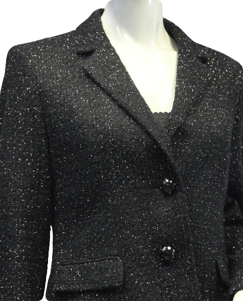 Anne Klein I Spy Sparkle Jacket Size 4 (SKU 000007)